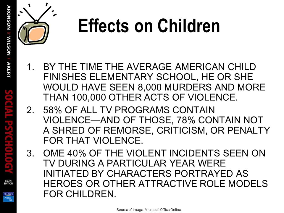 exploring the effects of violence seen on television Aggression and violence are common occurrences in everyday society and something we are exposed to every day barlow and hill (1985) suggest that television.