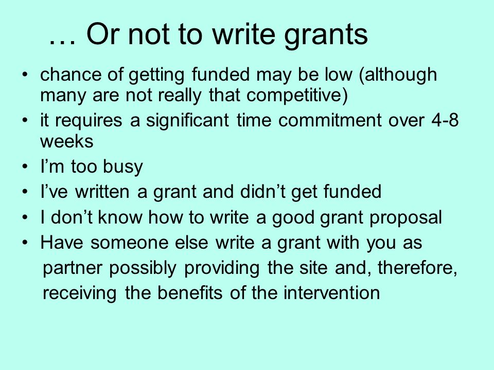 How To Write A Grant Proposal For Your Music Project