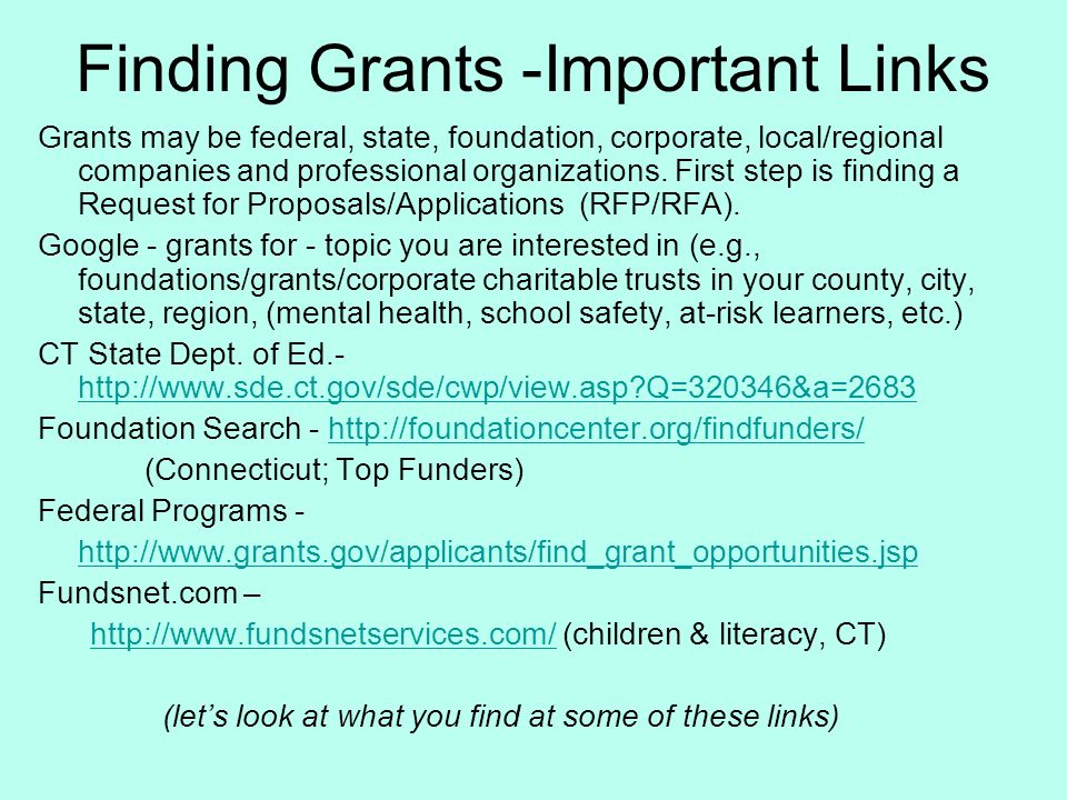 grant writing template
