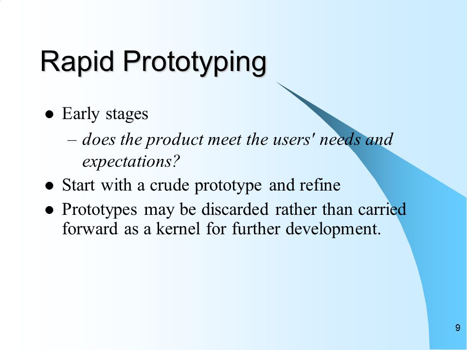 Product development user testing ppt video online download for Product design and prototyping