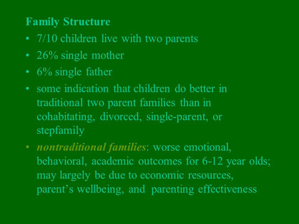 single parent families economic problems Read this essay on social studies sba on single parent families parent families suffer from multiple problems parent households also suffered economic.