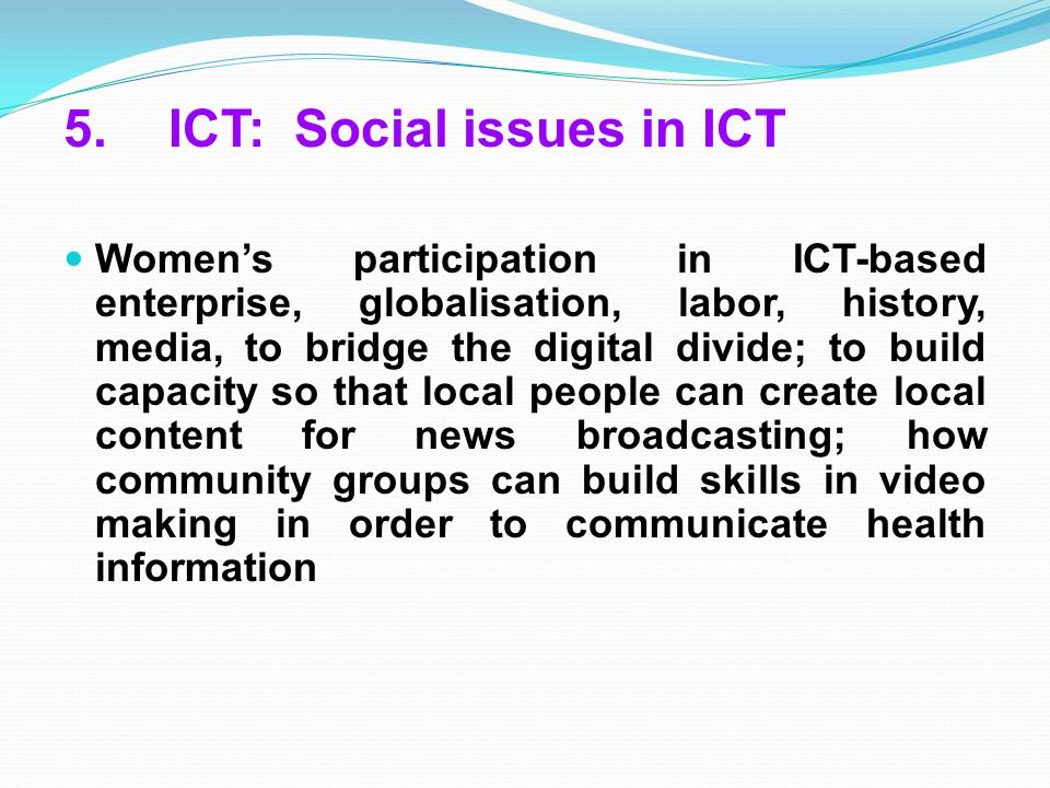 ict in the local community essay In this project i am going to investigate how ict has affected people in my local community in my community many things happen in the library so i am going to concentrate my work on the technologies used in libraries.