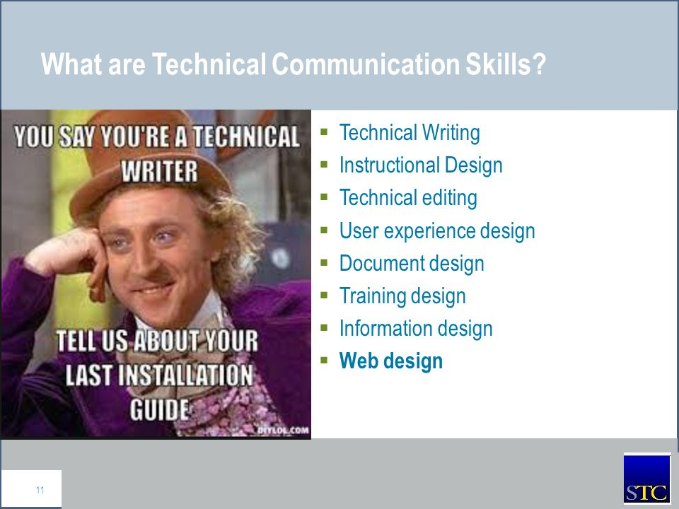 technical writing skills training Combining his technical writing skills and his his experience also includes team management, technical training, education, and technical authoring for such.