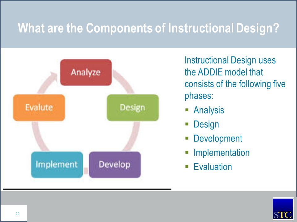 an analysis of the ultimate goal of instructional design Information processing analysis as suggested by paul merrill (gagné, 1985)   build every presentation from fundamental components the use of  taught in  the design phase, learning objectives are developed for each task while the task .