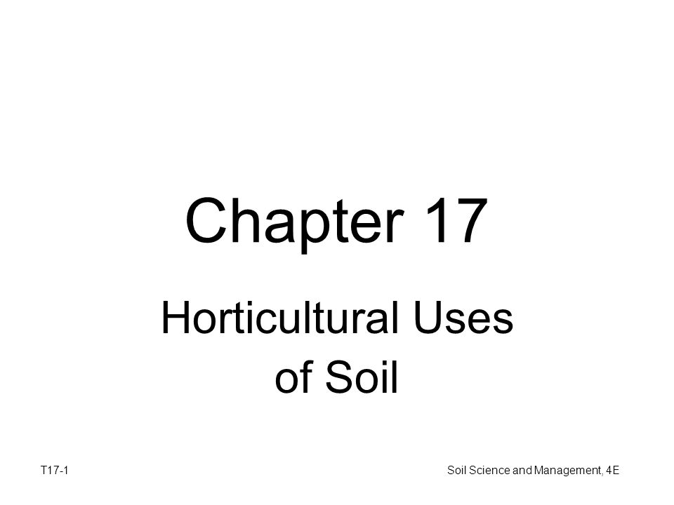 Horticultural uses of soil ppt download for Soil and its uses