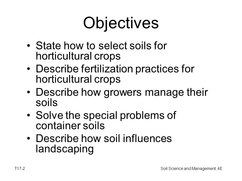 Horticultural uses of soil ppt download for Describe soil