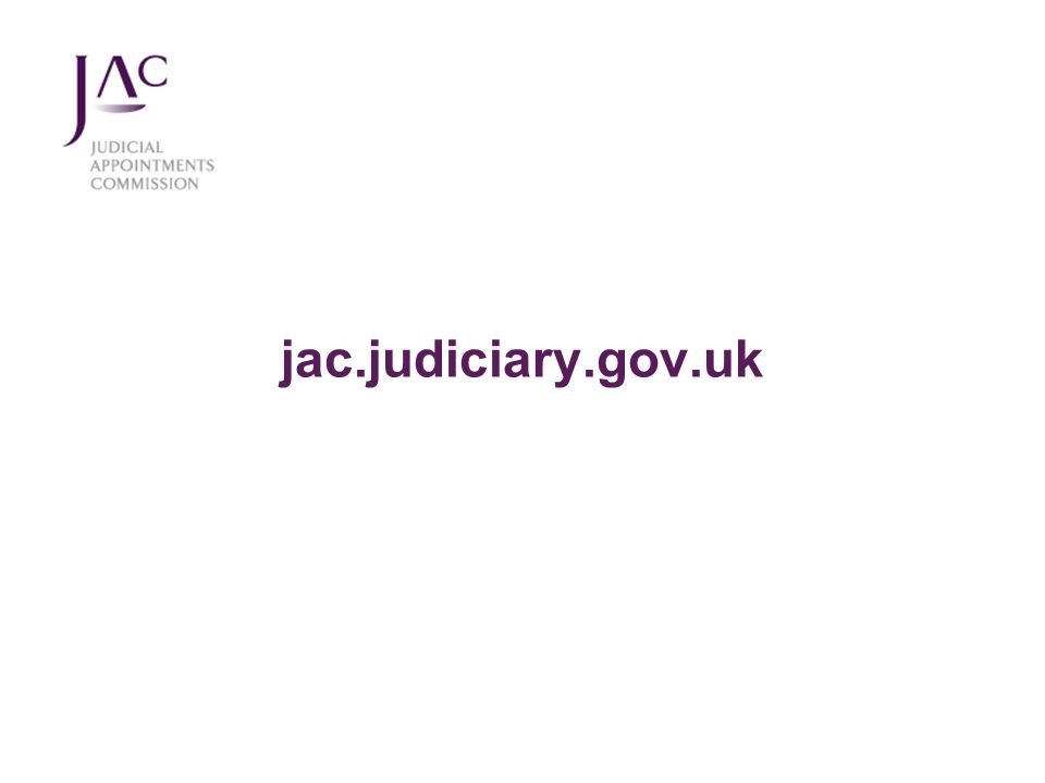 jac.judiciary.gov.uk