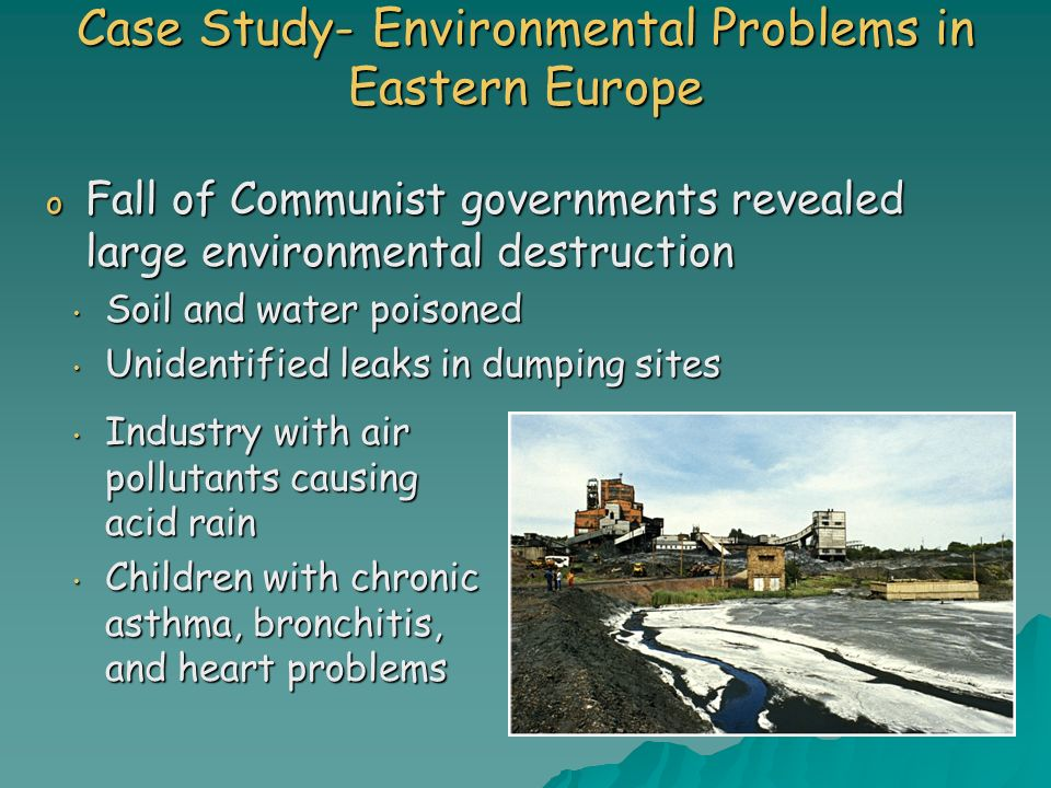 chapter 36 environmental concerns This chapter describes the process undertaken to produce this environmental and social impact assessment (esia) and presents the methodology used to assess the significance of impacts that may result from the south.