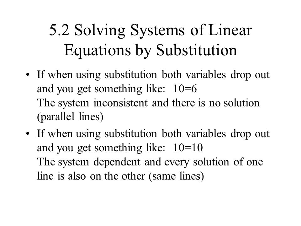 Solving systems of equations by elimination (old)