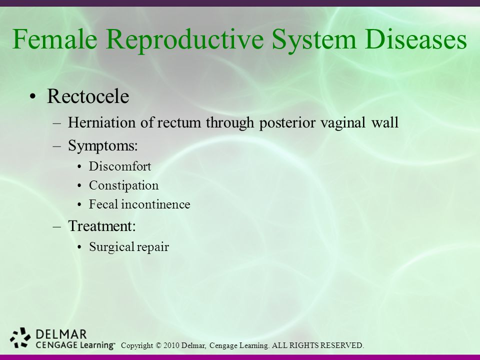 reproductive system diseases