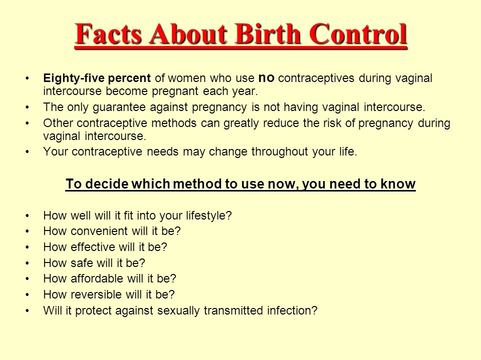 the use of contraceptives during first intercourse They are used before or during sex while emergency contraceptives are  developed the first birth control  first time they have sexual intercourse.
