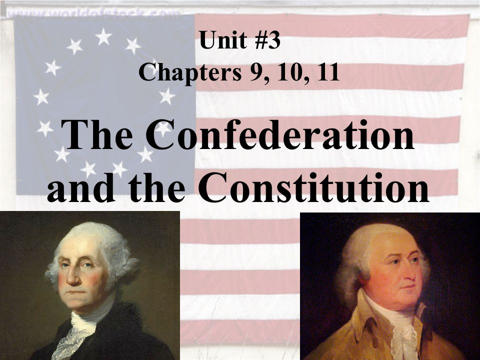the confederation and the constitution While in the midst of the american revolution, the continental congress decided to create a government to lead the new nation in 1777, after much debate, the articles of confederation was completed, becoming america's first constitution.