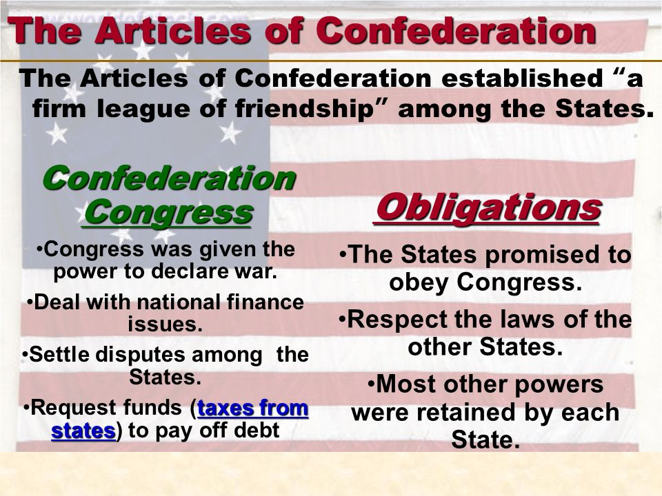 the articles of confederation and the constitution List of cons of the articles of confederation 1 it was a weak document and had flaws critics say that the first constitution was not able to deliver what it offered because since the start, it was already weak.