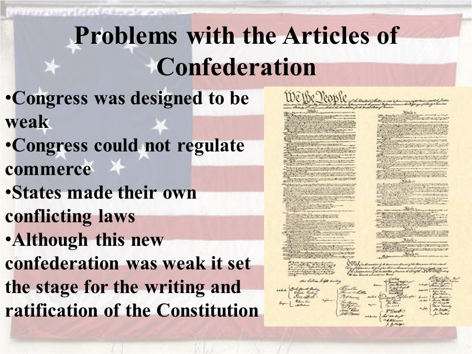 Articles of confederation and articles of constitution essay
