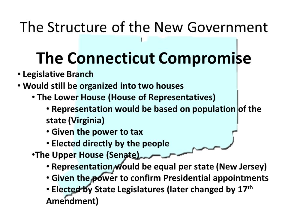 The Structure of the New Government
