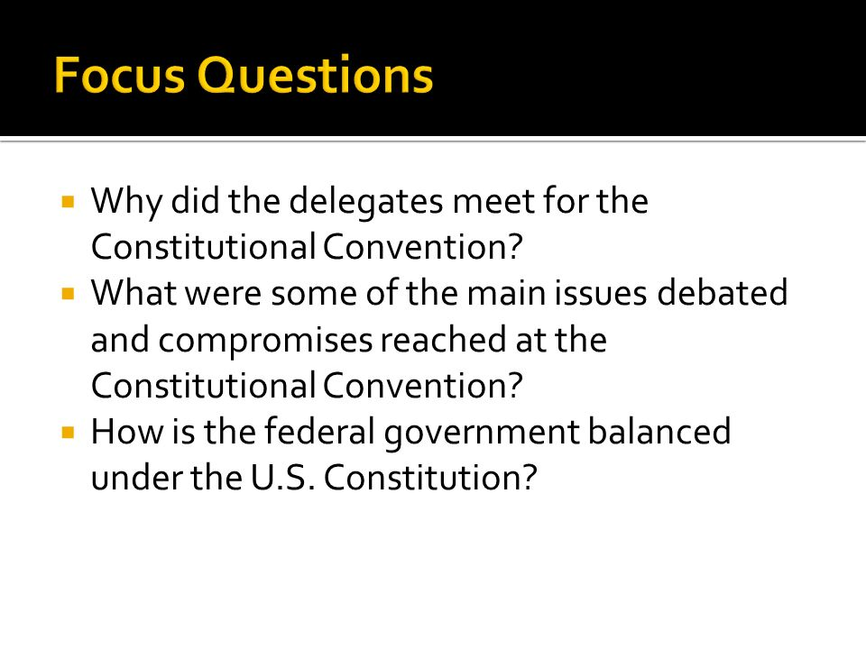 essay questions about the constitutional convention