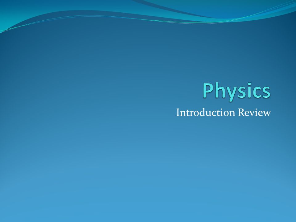 Physics   MIT OpenCourseWare   Free Online Course Materials