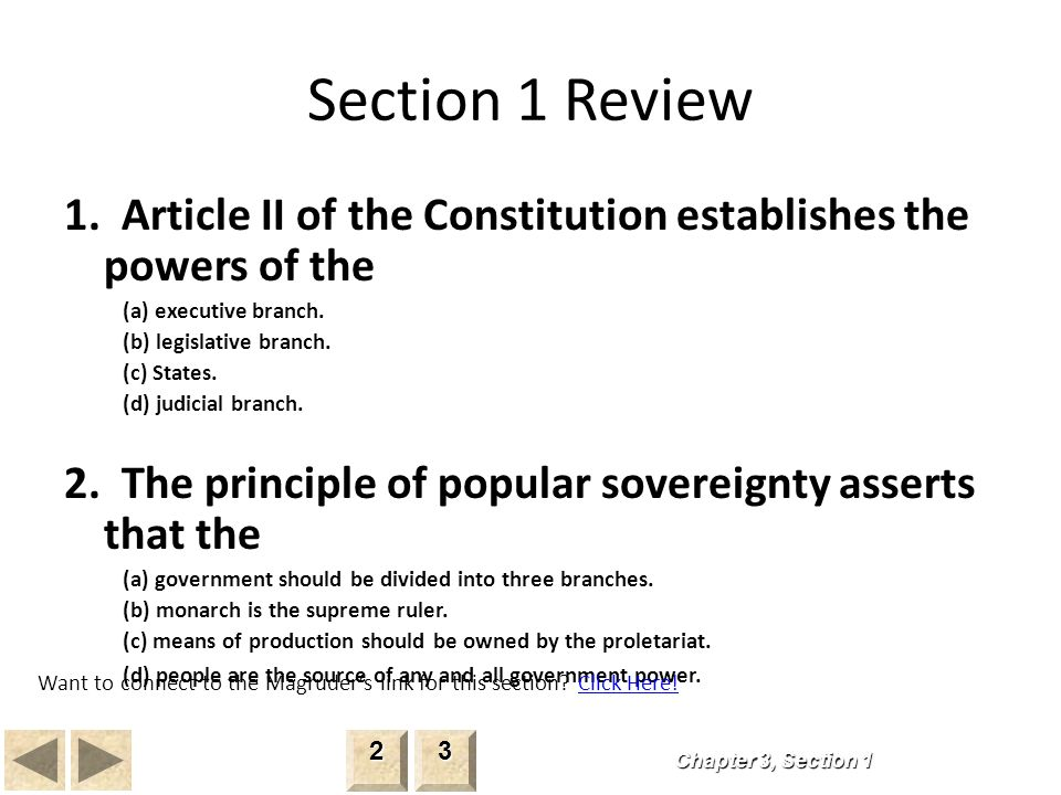 summary connected with post 3 area Step 2 about any constitution
