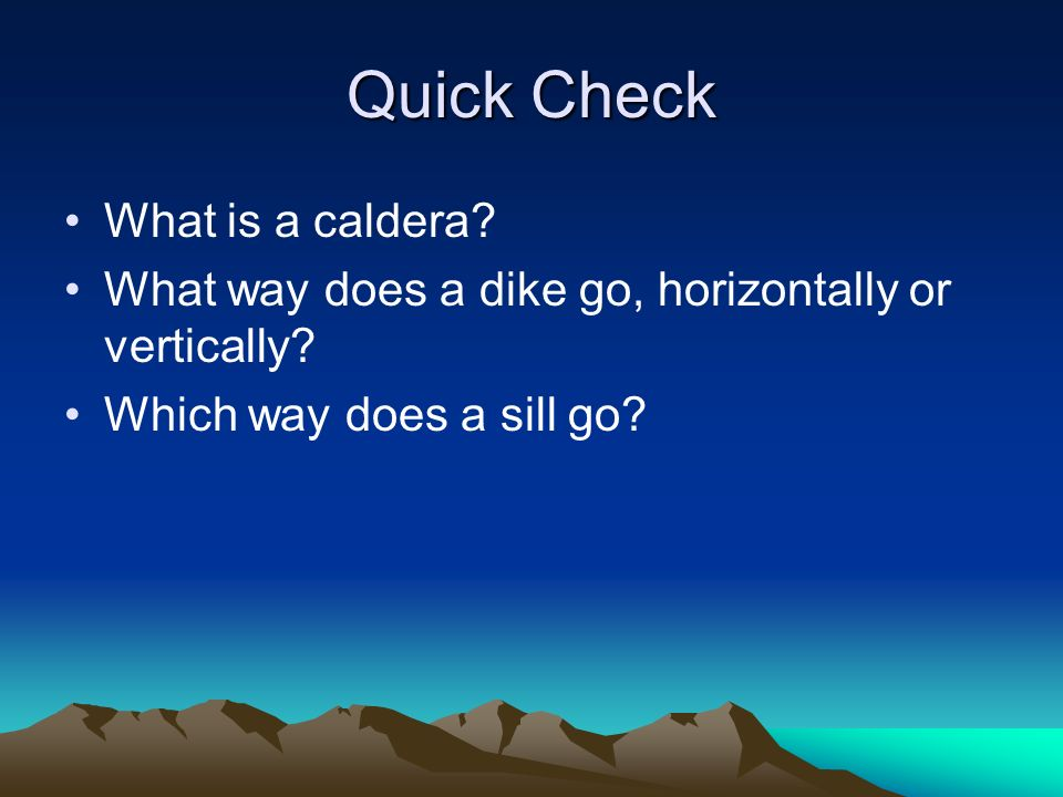 How do volcanoes change the Earth's surface? - ppt video online ...