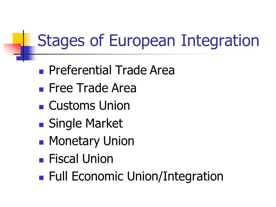 The trade and economic benefits of the european union