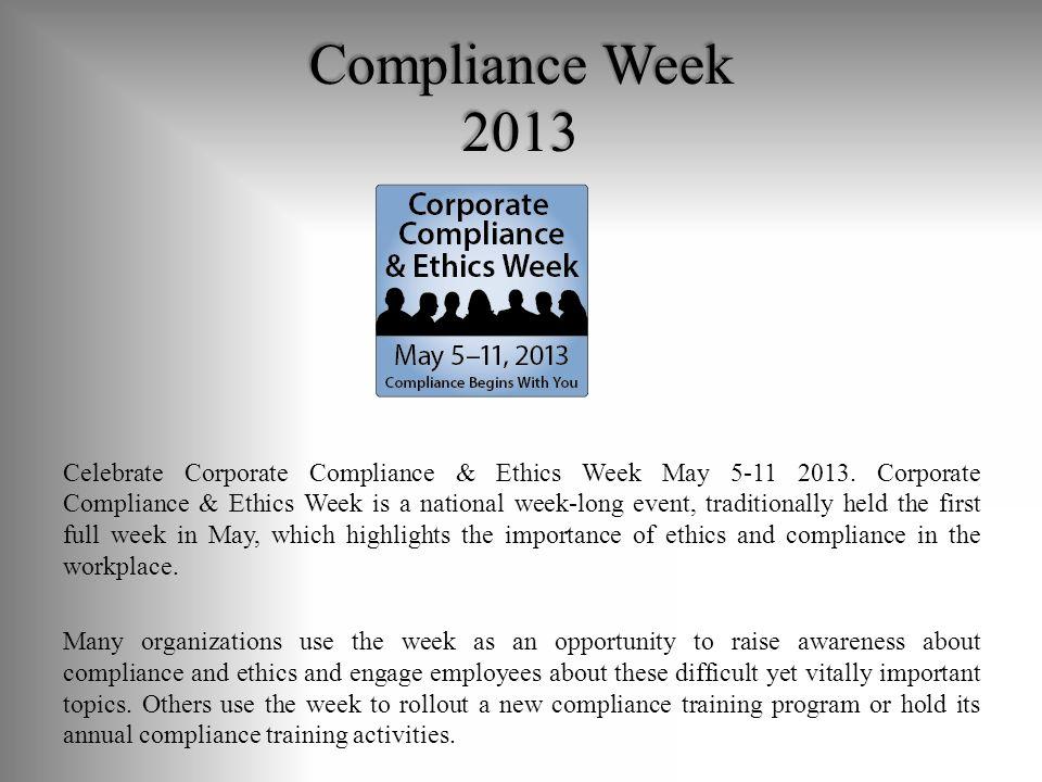 Corporate Compliance Program Essentials Ppt Download