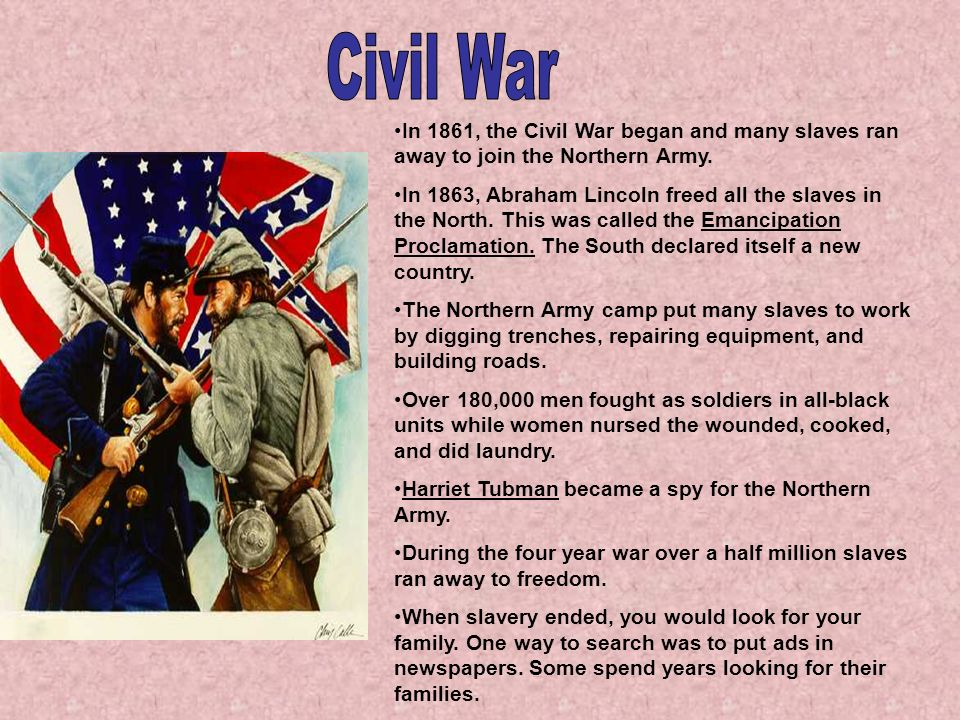 Civil war end date