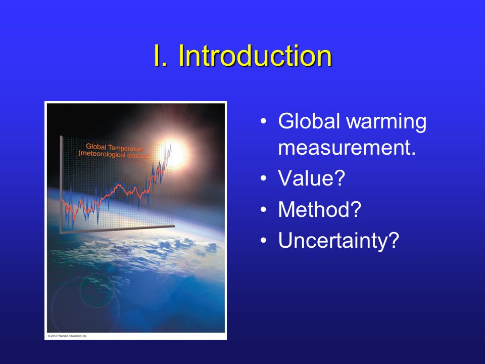 an introduction to the history of global warming Introduction many lines of scientific evidence show the earth's climate is changing this page presents the latest information from several independent measures of observed climate change that illustrate an overwhelmingly compelling story of a planet that is undergoing global warming.
