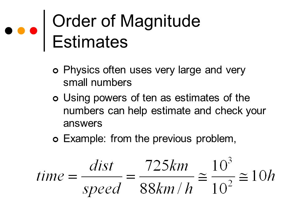 orders of magnitude and number More info on orders of magnitude (numbers each number is given a name in the so called short scale order of magnitude of an upper bound that.