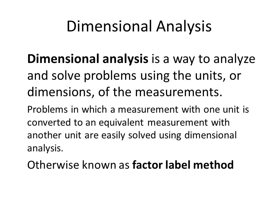 Dimensional analysis practice worksheet answers