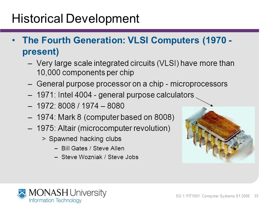 computer generations and the historical development Computer generations is crude, but it does provide some structure where there   developing and maintaining two completely different product lines was an.