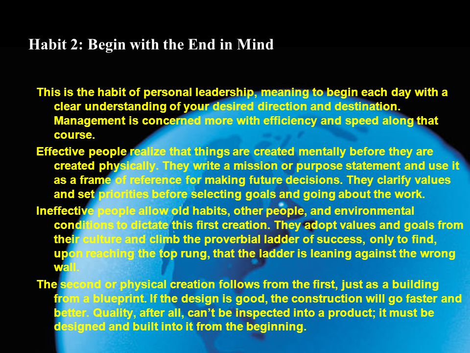 7 habits of highly effective people ppt video online download 5 habit malvernweather Image collections