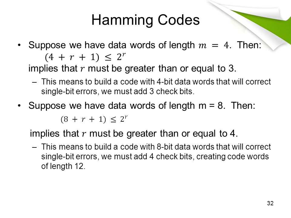 Lecture 6 Topics Character codes Error Detection and ...
