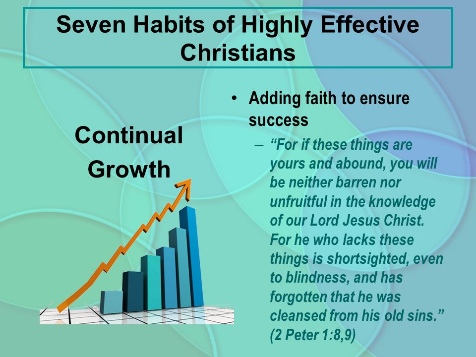 Seven Habits of Highly Effective Christians - ppt video ...