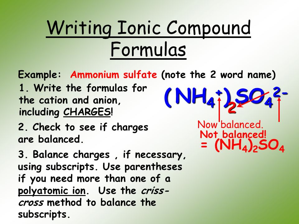 how to write formulas on word