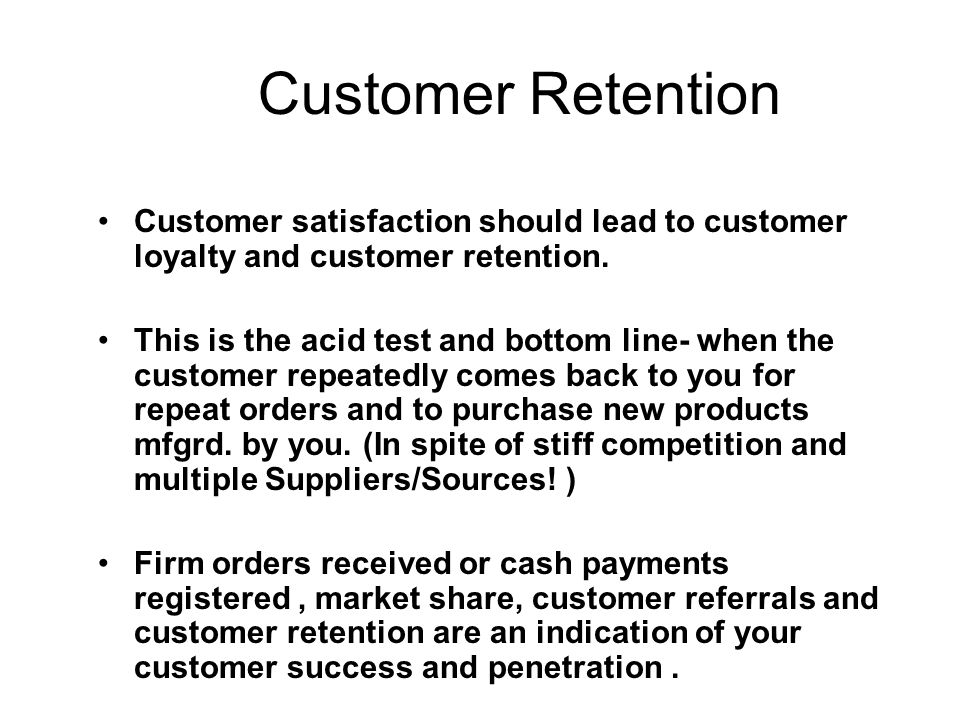 Customer Retention Surveys