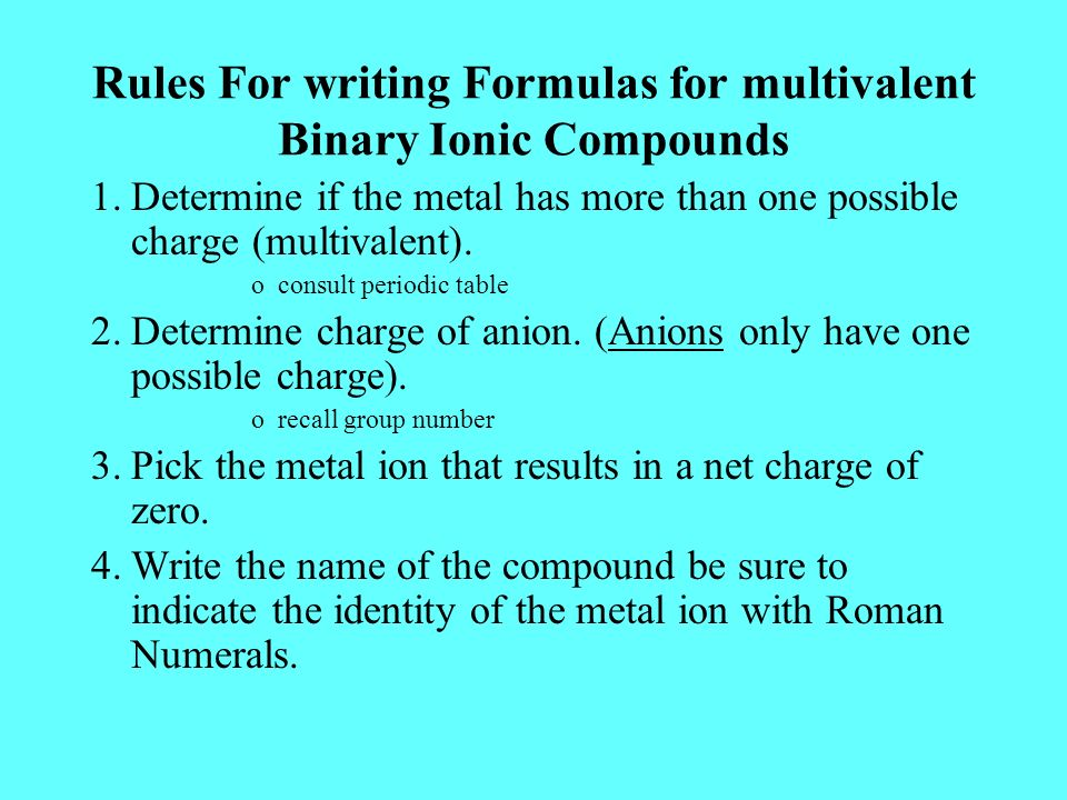 What is the meaning of metal ions?
