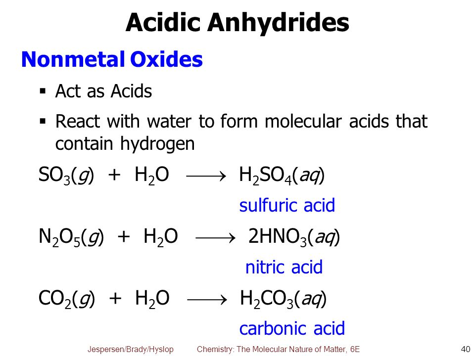 Chapter 5 Molecular View of Reactions in Aqueous Solutions ...