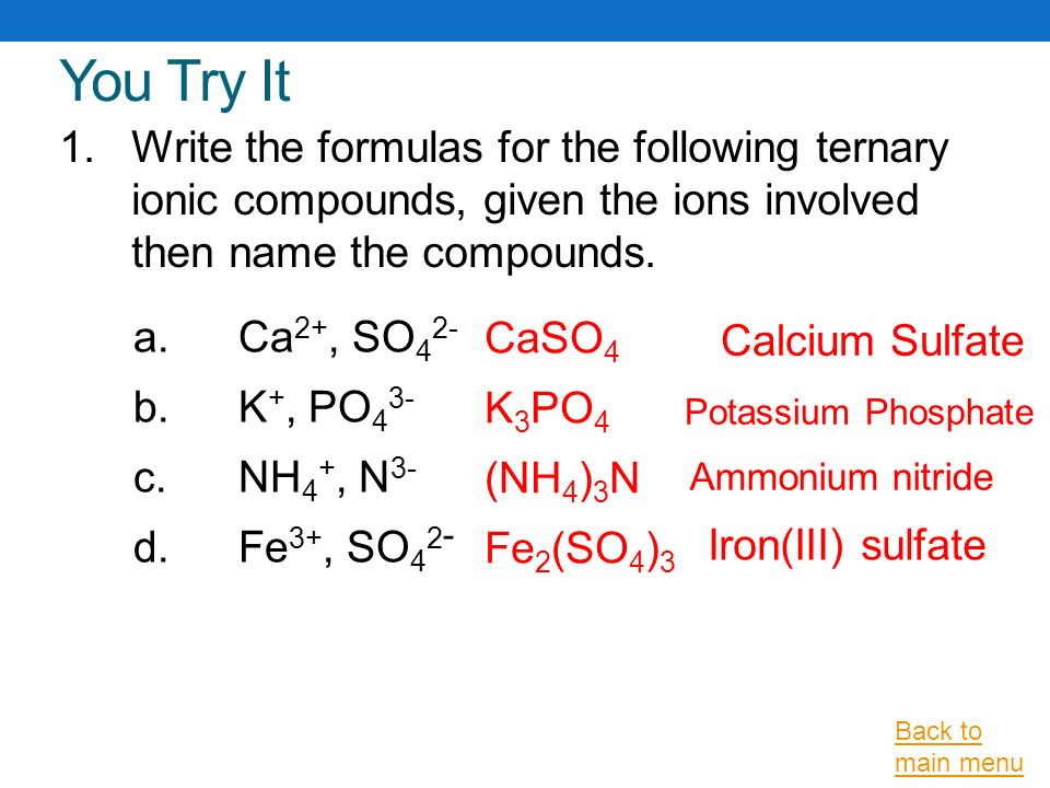 Ionic Bonding and Nomenclature - ppt video online download