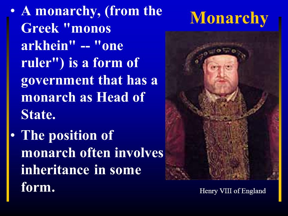 henry viiis reinstatement of the ancient right of the monarch