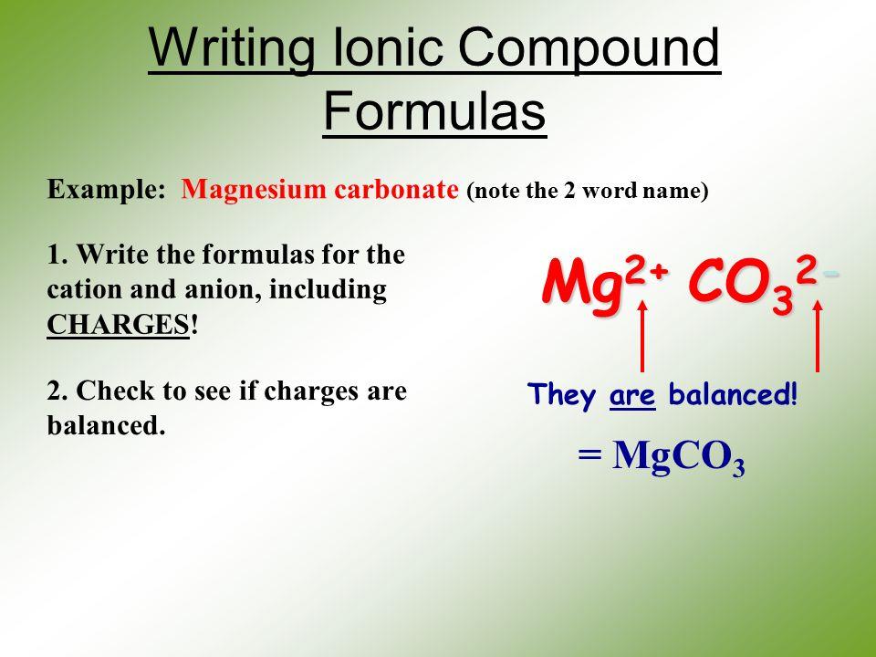 ionic compound writing formulas pdf