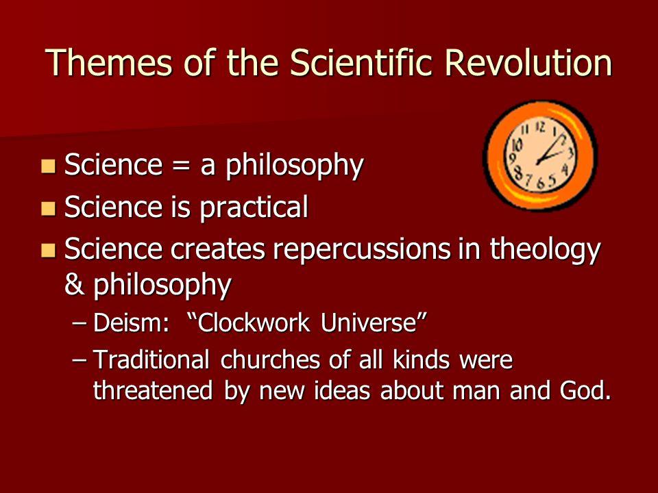 Themes of the Scientific Revolution