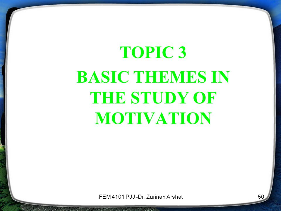 a discussion on the causes of motivation Work motivation, job satisfaction, and organisational commitment of library personnel in academic and research motivation is a very important element of behaviour recent research gives more support to the idea that commitment causes satisfaction.