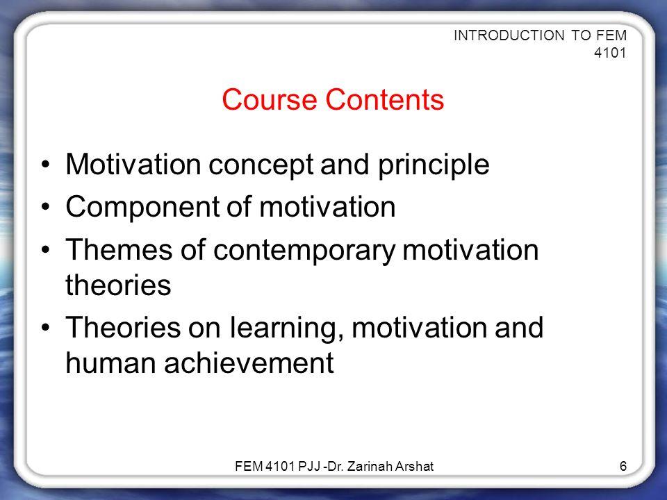 Free Online course on Motivation Defined