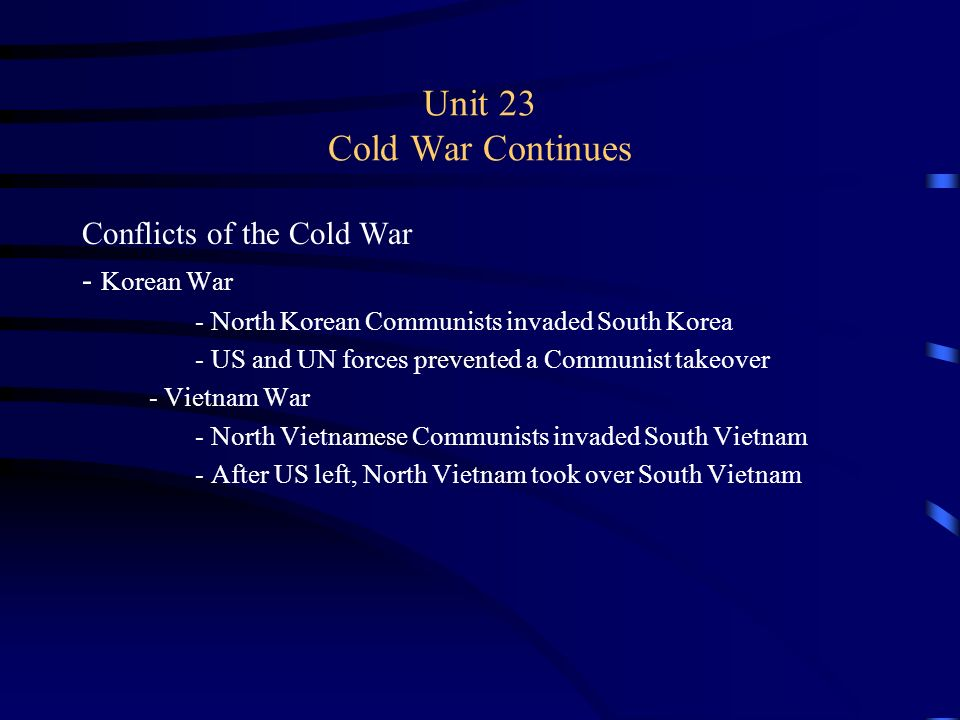 unit 2 cold war The origins of the cold war • hot war/ cold war • causes • yalta and potsdam • hiroshima • salami tactics • fulton  who is john d clare.