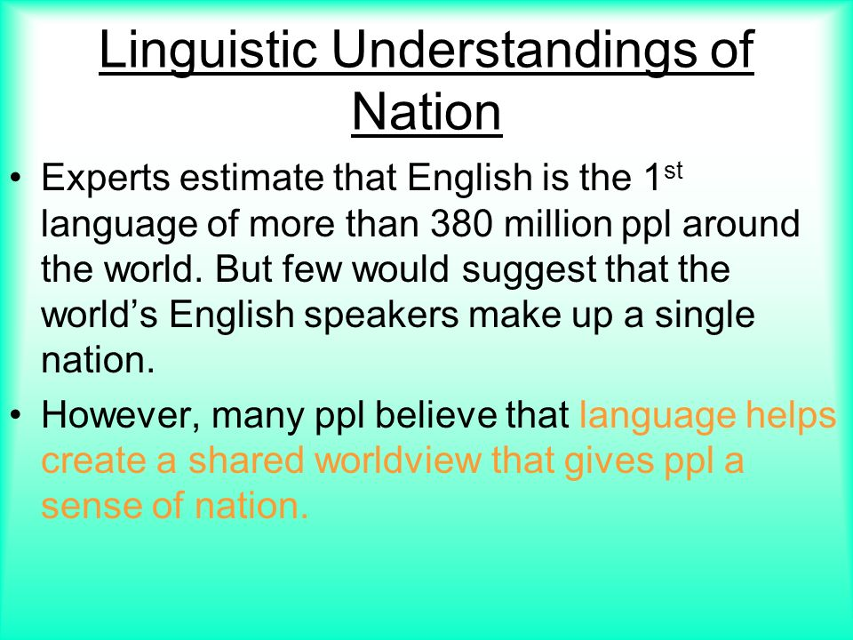 eng 380 linguistics Prerequisites: eng 421, eng 424, eng 425 priority to ma linguistic and tesol student introduction to basic documentary linguistics and linguistic fieldwork through the elicitation and analysis of data from an unfamiliar language discussion of research ethics and project logistics.