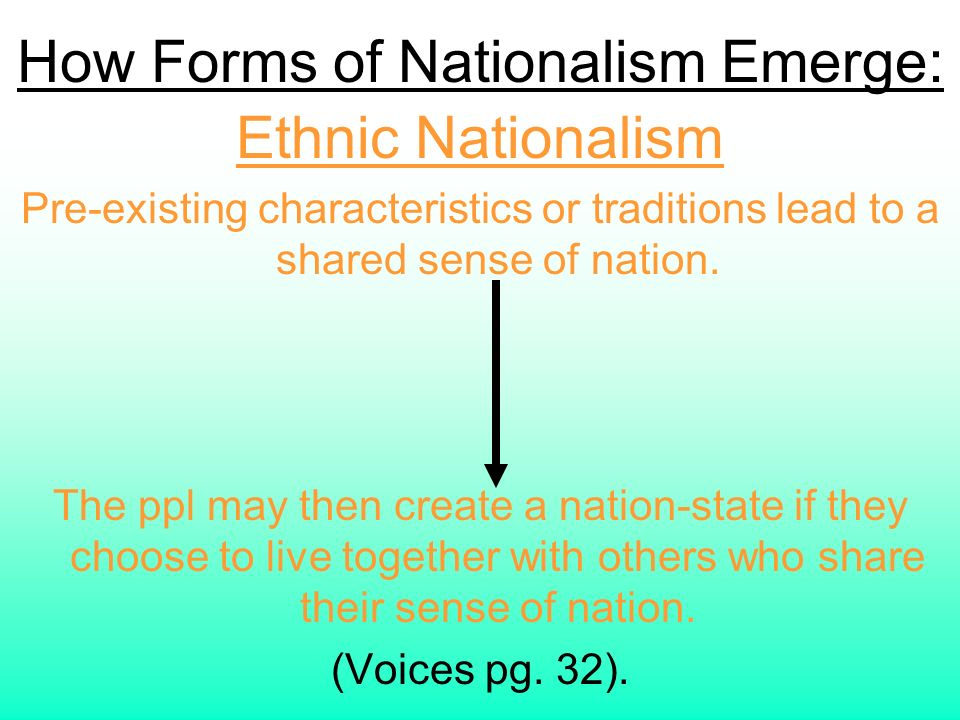 characteristics nationalism Modern nationalism, the masses & the democracy of of common elementary characteristics that are retained both in nationalism acts upon these masses.