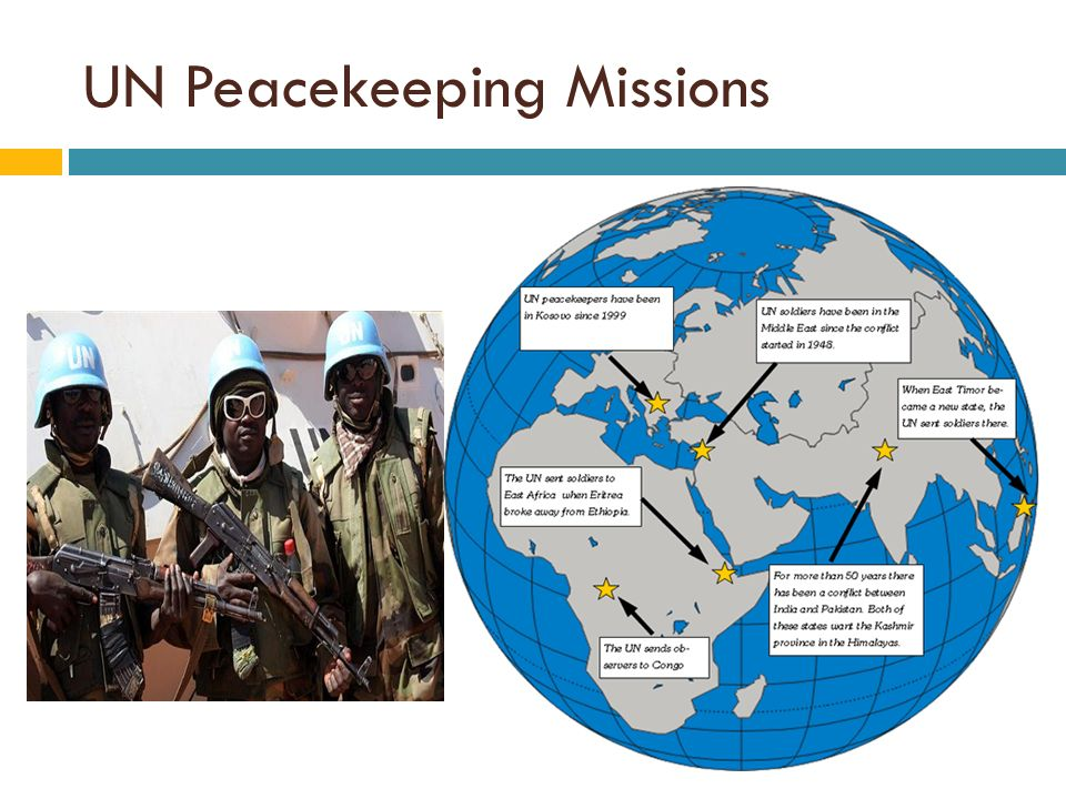 un peacekeeping operations The number of united nations peacekeeping forces around the  with a sizable  military force was the un operation in the congo (onuc) in.