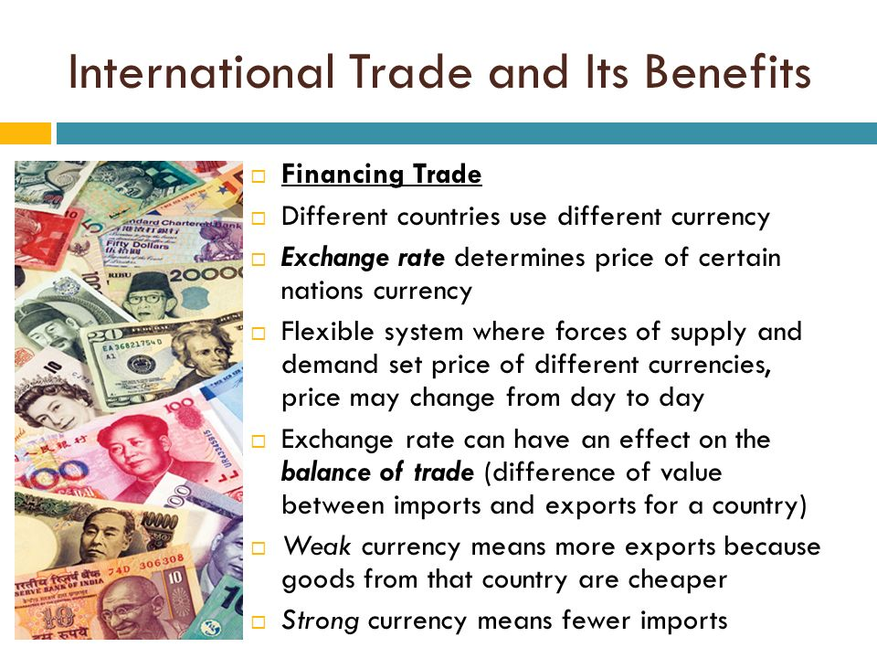 the benefits of trade finance What is trade finance trade or export finance concerns international and national trade transactions benefits of trade financing.