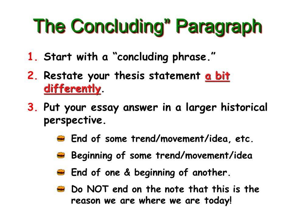 concluding thesis statement Free thesis statement generator for immediate assistance it is a crucial part of an essay or a research proposal as it predicts whether the paper would be great or useless writing your thesis statement , you should be confident you have some strong arguments and evidence to support it.