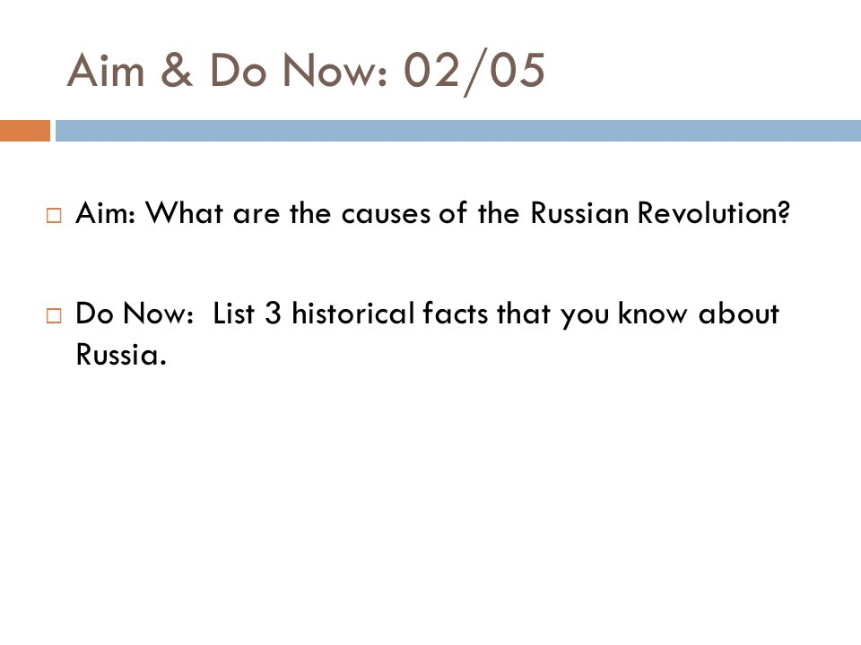 Causes of the russian revolution essay